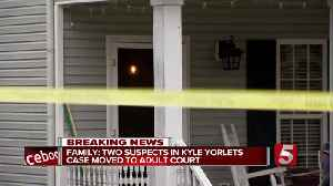 Yorlets family says 2 suspects in musician's killing will be moved to adult court [Video]