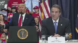 Gov. Andrew Cuomo Meets With President Donald Trump To Discuss Trusted Traveler Ban [Video]