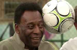 """I am well"". Pele seeks to allay fears amidst health concerns [Video]"