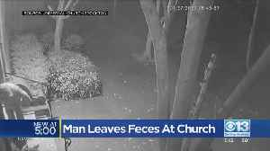 Man Leaves Feces At Church [Video]