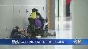 Homeless North Texans Seek Warmth, Shelter At DFW Airport On Freezing Night [Video]