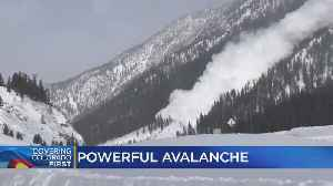 Avalanches Triggered On Purpose To Prevent Dangerous Slides [Video]