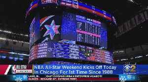NBA All-Star Game Is Back In Chicago For The First Time Since 1988 [Video]