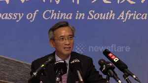 News video: China's ambassador to South Africa criticizes US travel restrictions over coronavirus