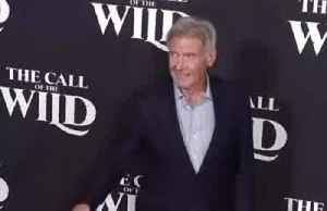 It's a dog's life for Harrison Ford as he launches latest film [Video]