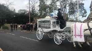 Funeral of tragic My Big Fat Gypsy Wedding twins [Video]