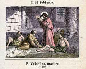 News video: This Day in History: St. Valentine Is Executed