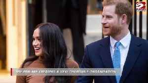 Prince Harry and Duchess Meghan meet academics at Stanford University [Video]