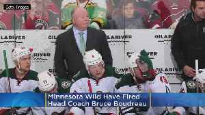 Minnesota Wild Fire Head Coach Bruce Boudreau [Video]
