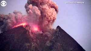 WEB EXTRA: Volcano Eruption Caught On Video [Video]