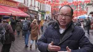 News video: Coronavirus Fears Impact London's Chinatown