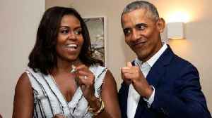 News video: Barack Obama Tweets About His 'Forever Dance Partner' Michelle Obama On Valentine's Day