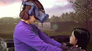 News video: Mother 'reunites' with dead daughter in virtual reality