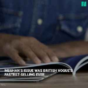 News video: Vogue Goes Behind The Scenes With Meghan Markle