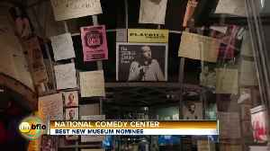 The National Comedy Center Needs Your Vote [Video]