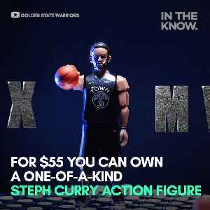 This Stephen Curry action figure is adorable [Video]