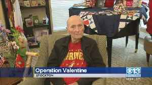 104-Year-Old Marine Vet Gets Thousands Of Cards For Valentine's Day [Video]