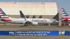 American Airlines Plans To Resume Boeing 737 MAX Commercial Flights August 2020 [Video]