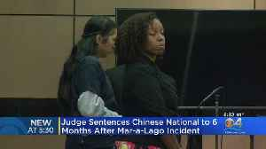 Chinese National Sentenced After Mar-A-Lago Incident [Video]