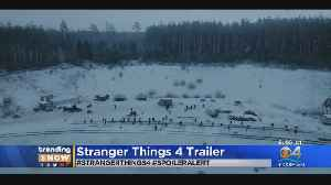 News video: Trending: Stranger Things 4 Teaser