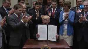 President Trump signs Executive Order on Offshore Drilling [Video]