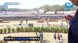 News video: Preparations for Kejriwal's swearing-in ceremony at Ramlila Maidan on Sunday