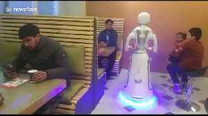 Country's first robot restaurant opens in Afghan capital [Video]