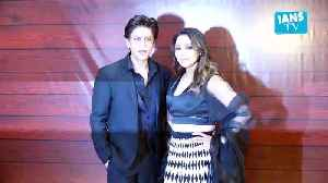 Shah Rukh's witty quip on 36th Valentine's Day with wife Gauri [Video]