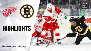 NHL Highlights | Bruins @ Red Wings 2/15/20 [Video]