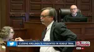 Closing arguments presented in Keadle trial [Video]