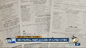 New political party accused of duping voters [Video]