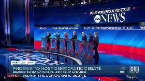 Phoenix to host democratic debate in March [Video]
