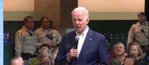 Vice President Joe Biden getting life from famous 'Hudson River' pilot [Video]