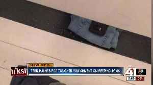 Teen pushes for tougher punishment on peeping Toms [Video]