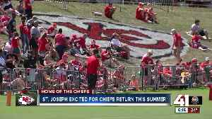 Chiefs reach deal to stay in St. Joseph for training camp [Video]