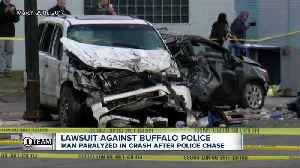 Buffalo Police violated no-chase policy in crash that paralyzed man, lawsuit says [Video]