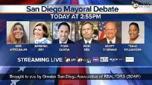 San Diego 50th District & Mayoral Debate [Video]