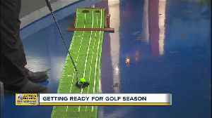 Getting Ready For Golf Season [Video]