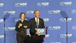 Bloomberg mocked for botching Texas slan [Video]