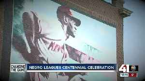 Negro Leagues Baseball Museum throws party to mark centennial of league's founding [Video]