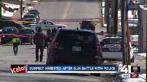 Officer-involved shooting in KCK following suspect's crime spree [Video]