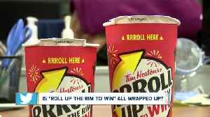 Is 'Roll Up the Rim to Win' all wrapped up? [Video]