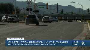 Two-year interchange project at I-10/Ruthrauff Road begins Feb. 14 [Video]