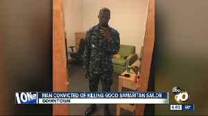 Man convicted of killing good Samaritan sailor [Video]