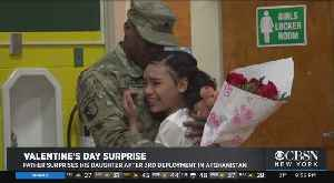 Father Surprises His Daughter After 3rd Deployment In Afghanistan [Video]