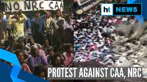 Scuffle breaks out between police, protesters in Chennai's Washermenpet [Video]