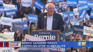 Democratic Presidential Candidate Bernie Sanders Rallies Supporters In Mesquite, Predicts Super Tuesday Victory In Texas [Video]