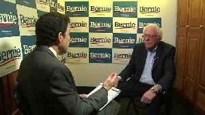 CBS 11's Jack Fink Talks With Democratic Presidential Candidate Bernie Sanders [Video]