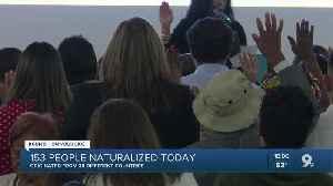 Hundreds attend naturalization ceremony [Video]