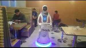 Counrty's first robot restaurant opens in Afghan capital [Video]